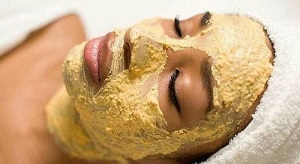 Banana mask can make the skin younger