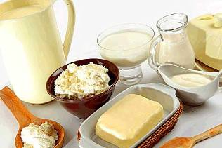 Face care-based dairy products